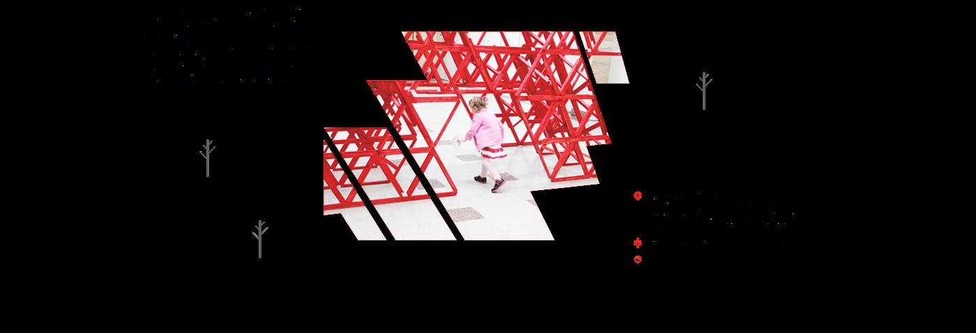 2D city modul gif animation  flatdesign hype publicspace Park move