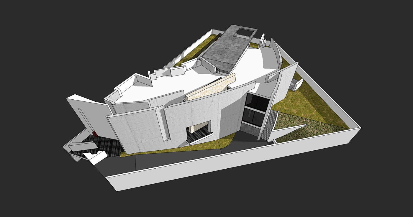 We Explored The 3d Model And Iterated During The Design Process So That  Both Architect And Client Can Understand What Would Be The Result.