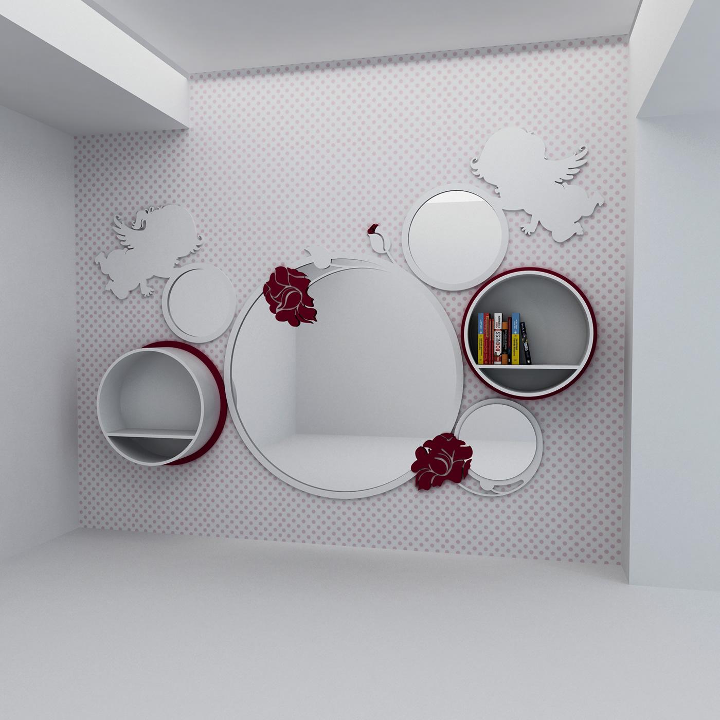 有設計感的18張粉紅色房間欣賞