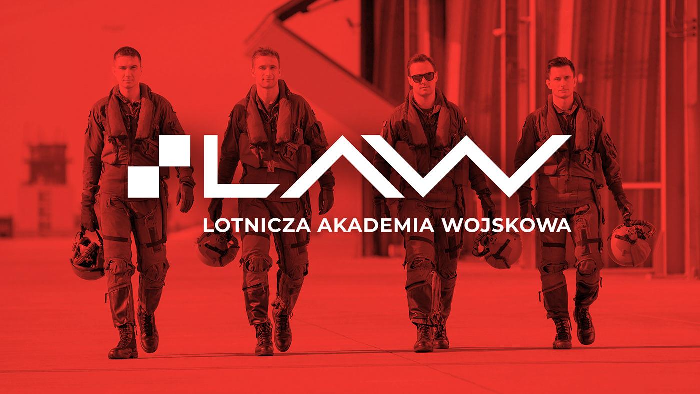 graphic design  graphic system logo Visaul Identity visual identification animation  army branding  Military school