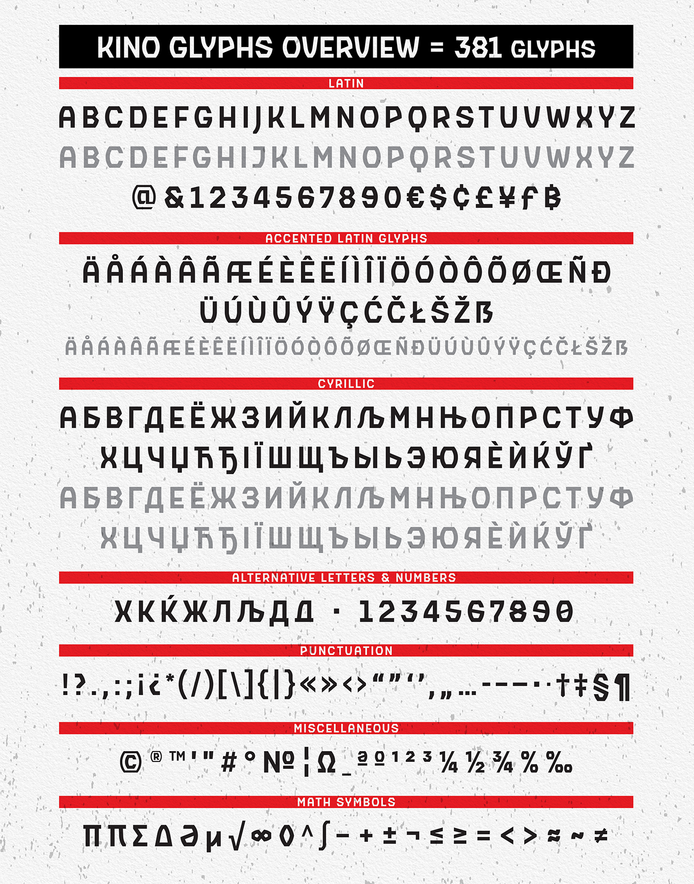 Kino Free Font On Behance