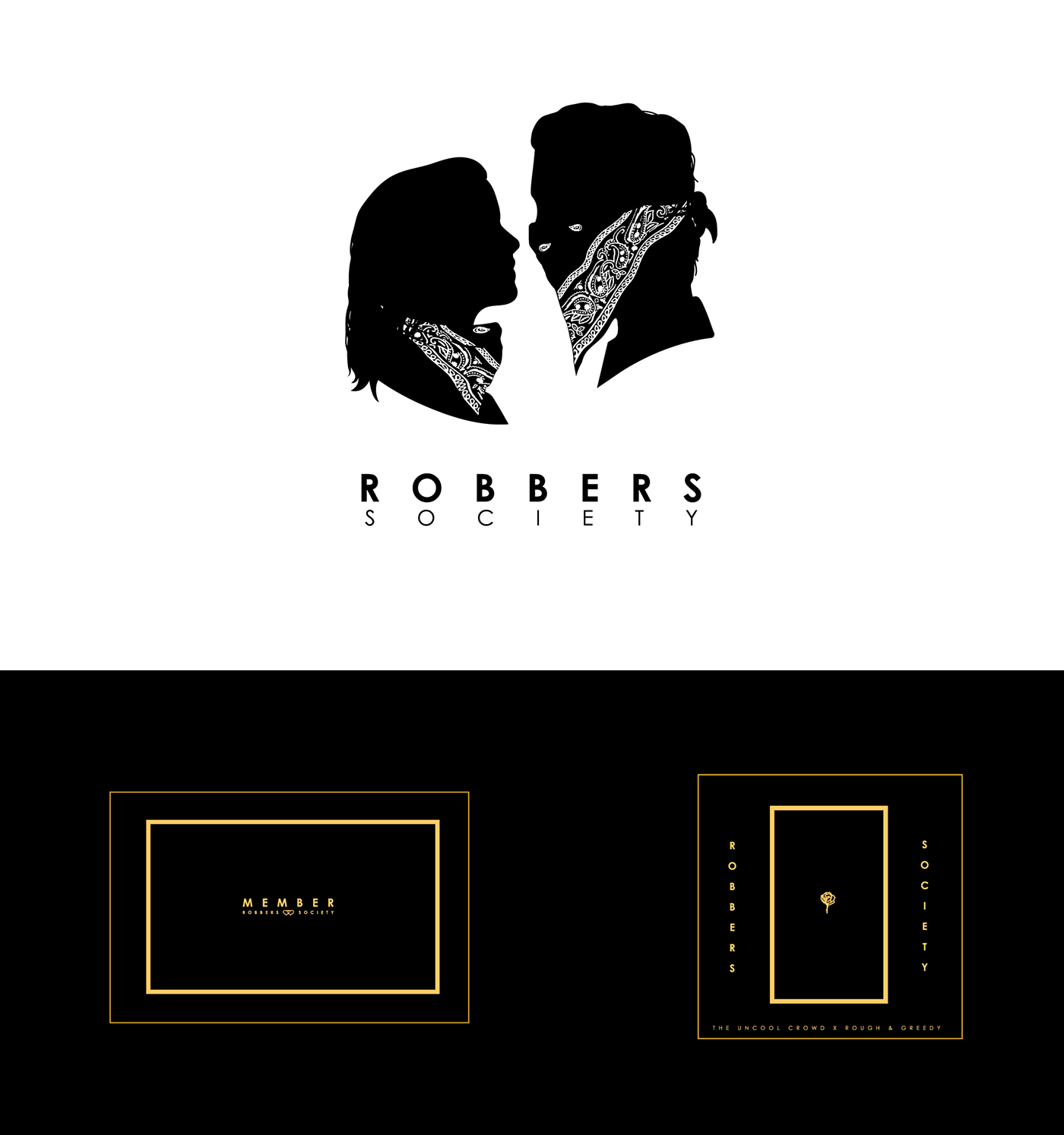 the 1975 matt healy Robbers ILIWYS secret society branding  product design  Logo Design clothing design