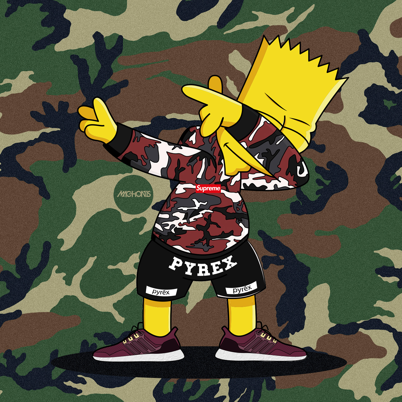Dope Cartoon Characters Wearing Supreme Pictures to Pin on ...