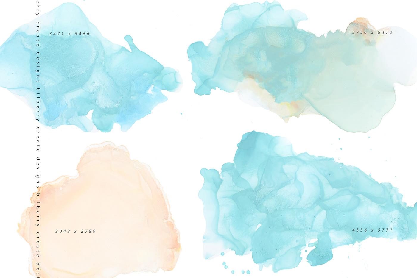 Abstract Art abstract texture handmade ink Invitation light splashes texture background  texture set trendy