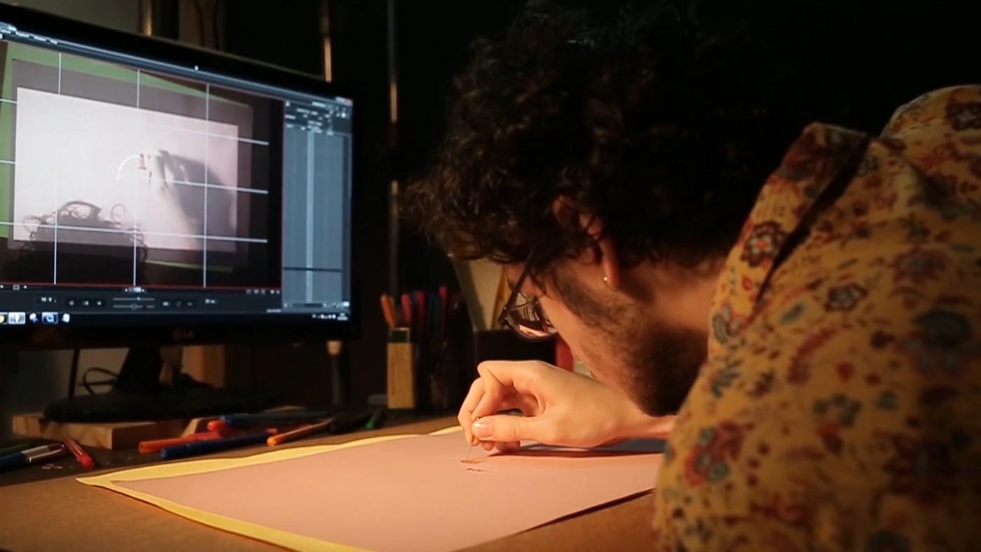 2D Animation gusti Mallko y Papa My Other Son stop motion animacion animation  art ILLUSTRATION  papercraft