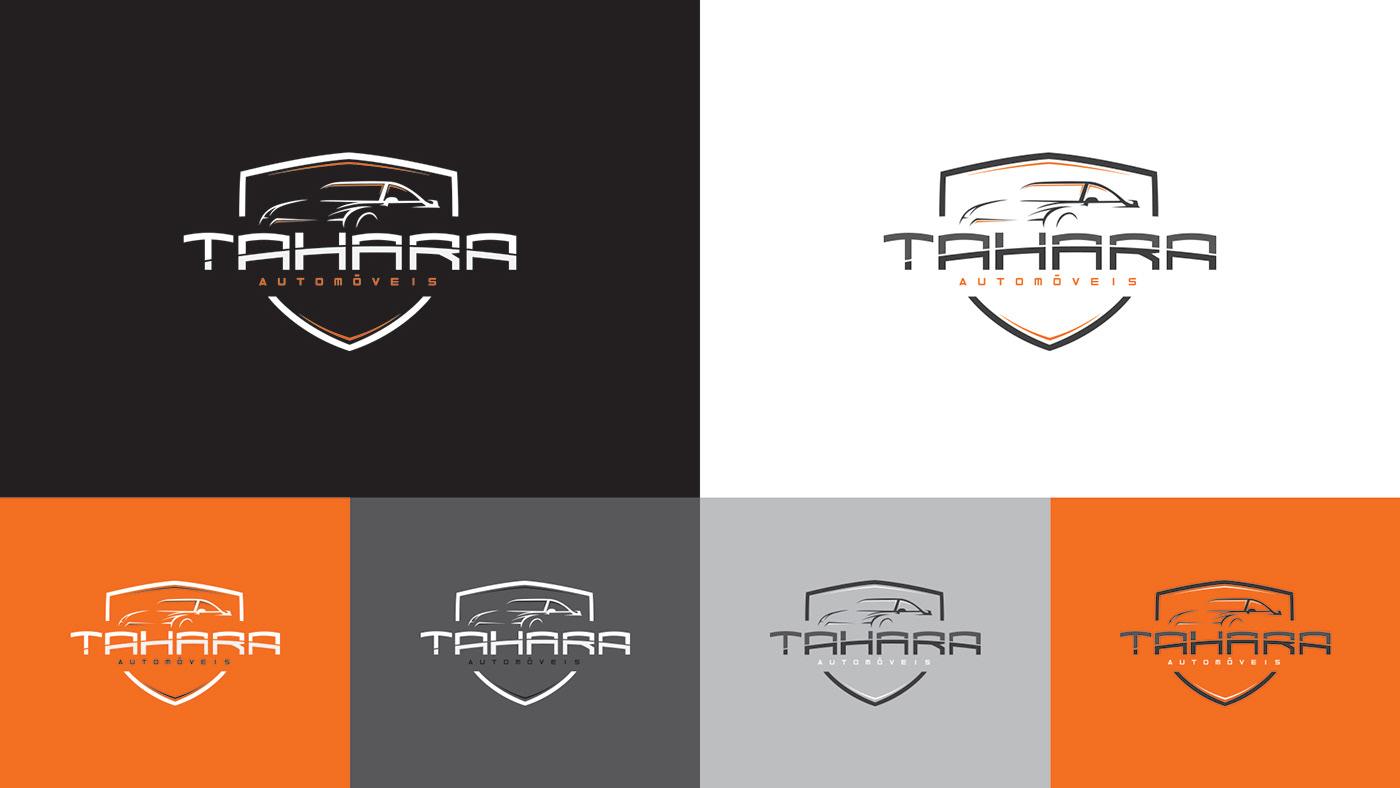 design identidade visual automoveis Manual de Marca design gráfico manual de marcabranding