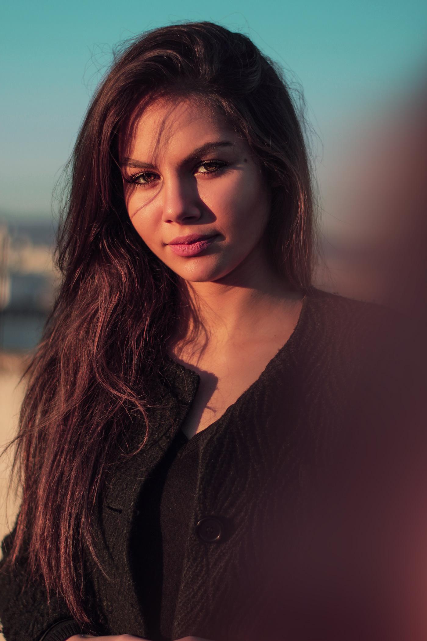 Photographie model retouching  girl shooting shoot photoshot Canon eyes