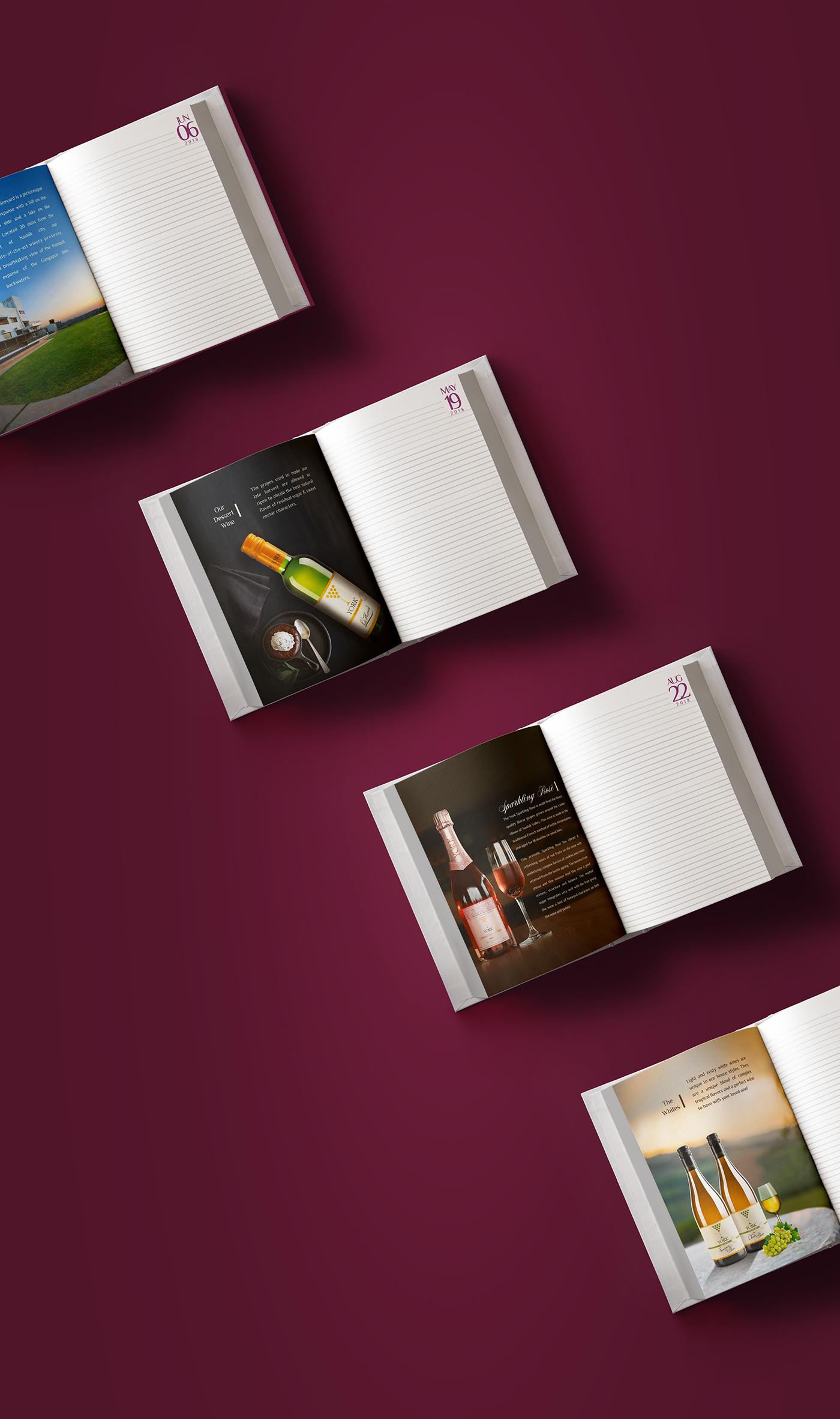 Yorkwinery,winery branding,winery diary,diary2018,WINEDIARY,Startup Farms