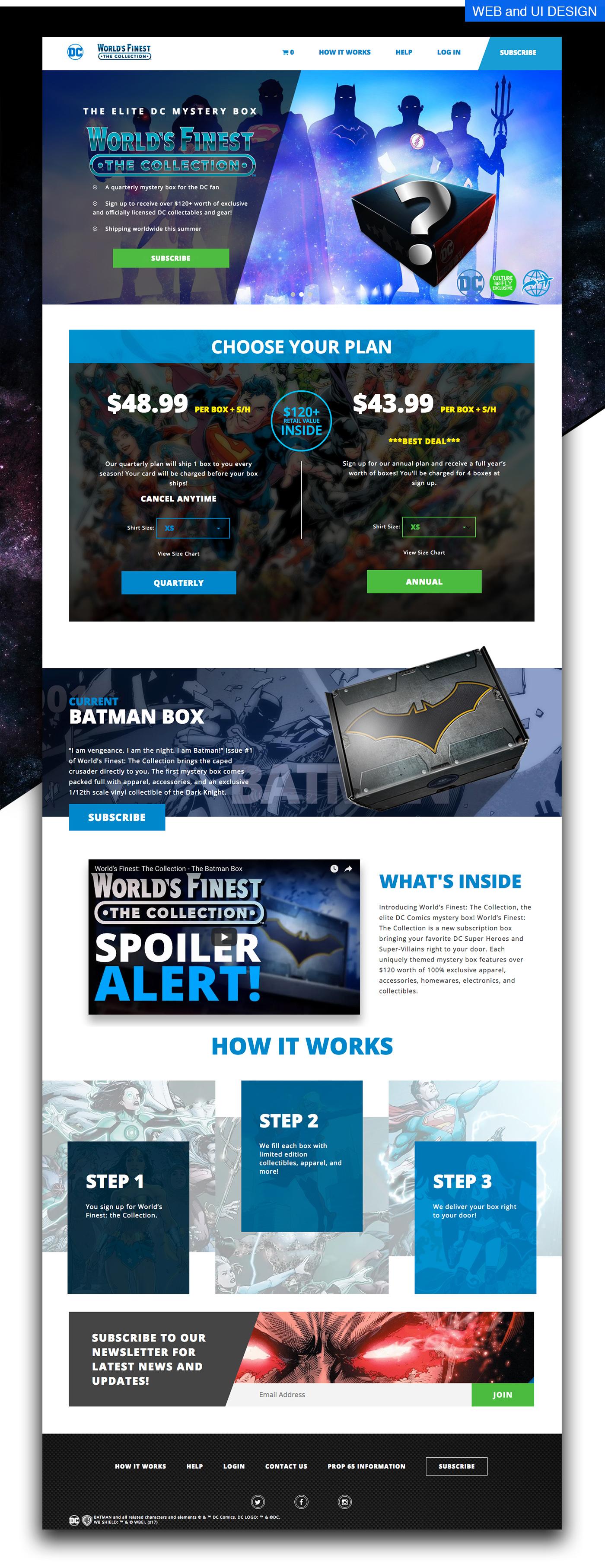 superman marketing   branding  UI/UX graphic design  Packaging comics
