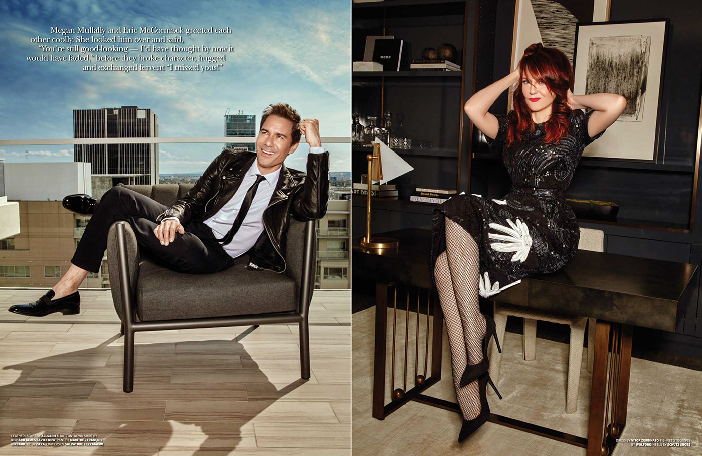Will and Grace on Behance