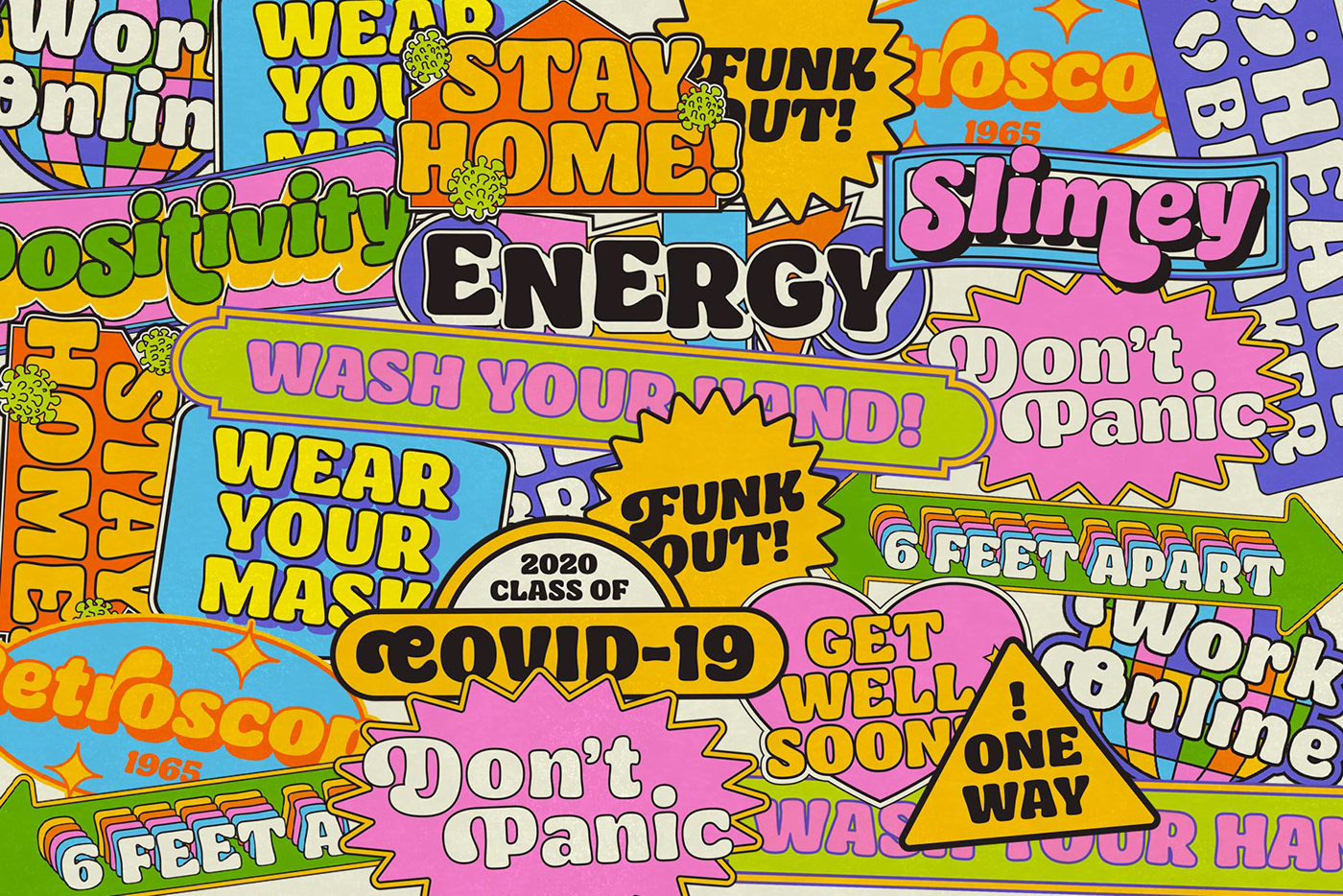 Ayr Blufy - Covid19 Sticker Pack