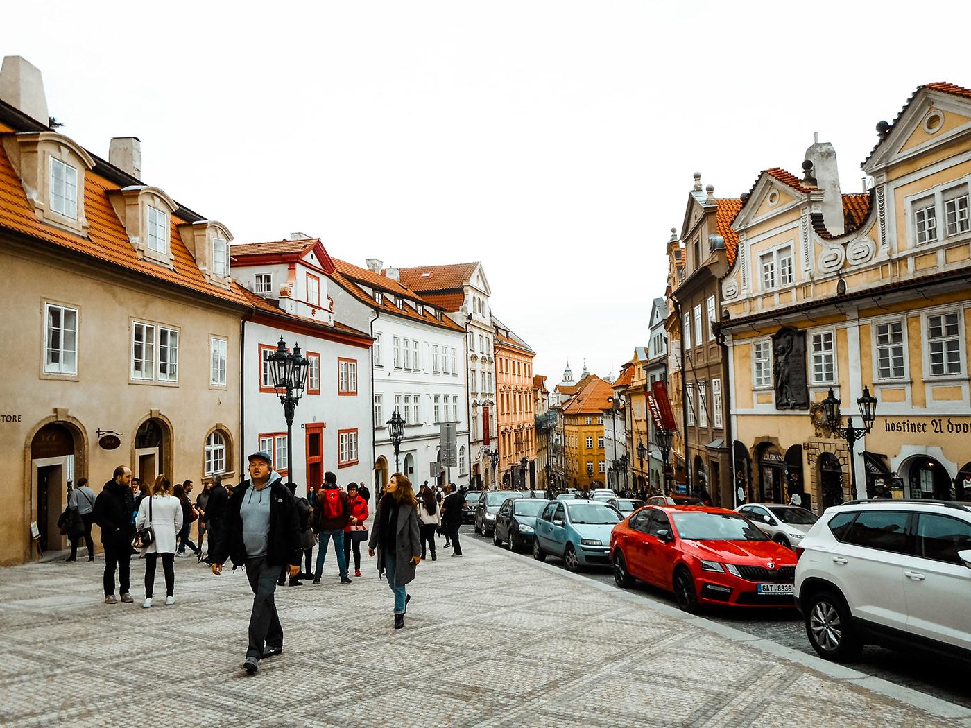 Photo of the streets of Prague by Eleah Ramos - View her portfolio at eleahramos.com
