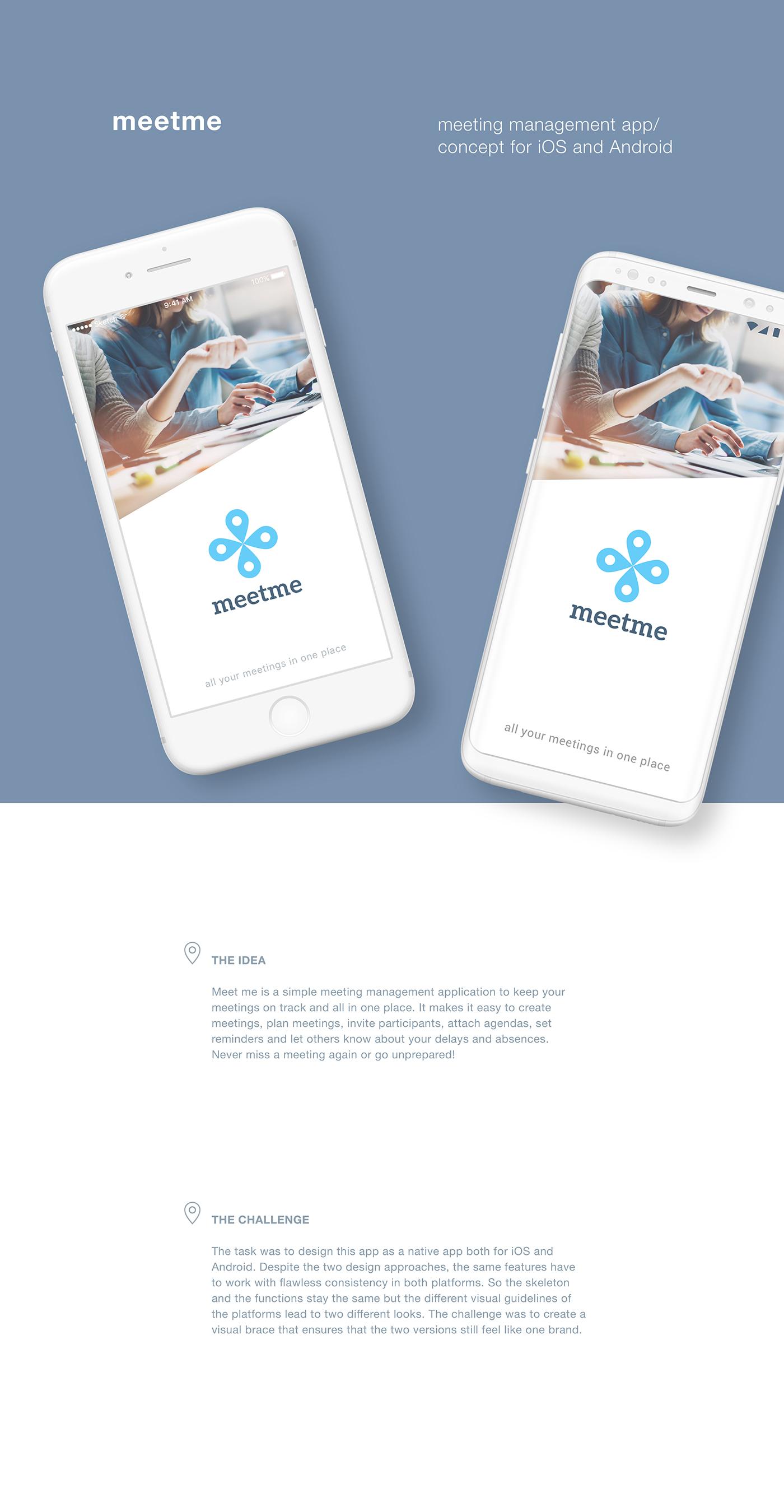 Meeting Management App on Behance