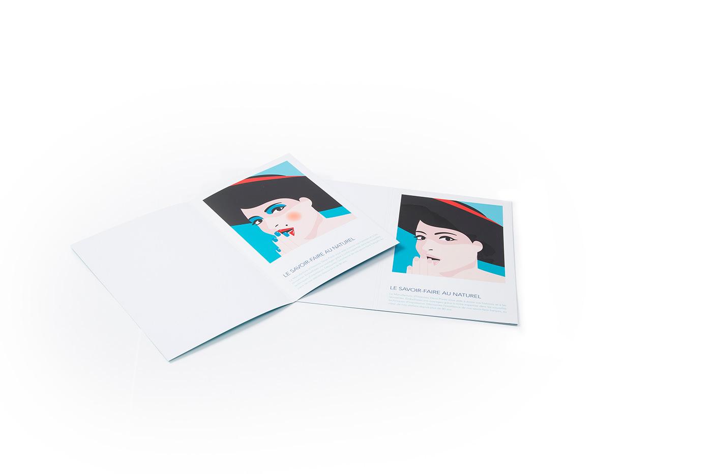 impression Encre Effet visuel print surprise Magic   ink innovation creation imprimerie