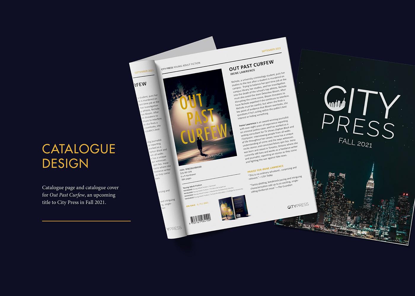 book Catalogue cover design logo product publishing   school