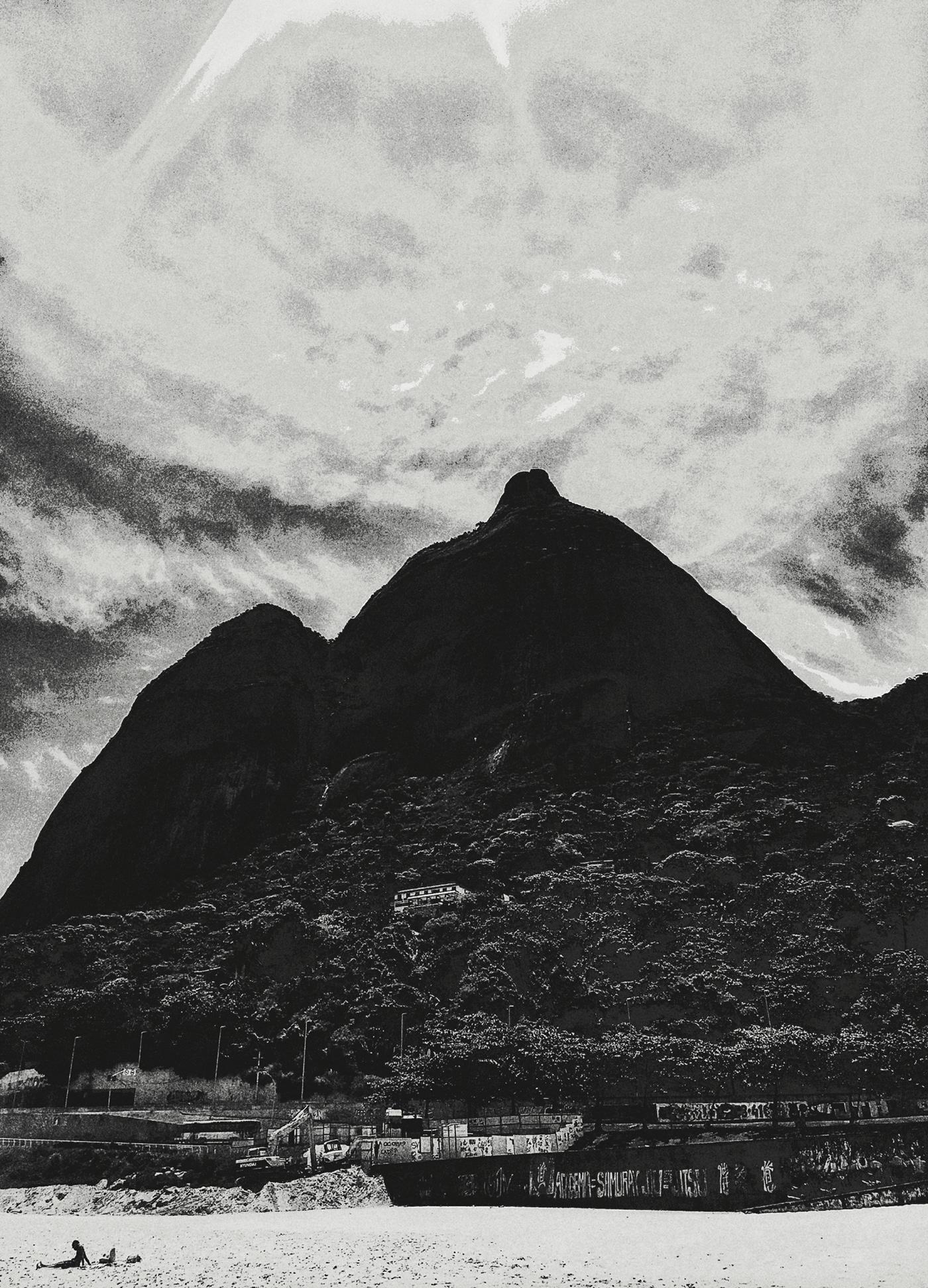 Rio de Janeiro lsd trip Fotografia morro Digital Art