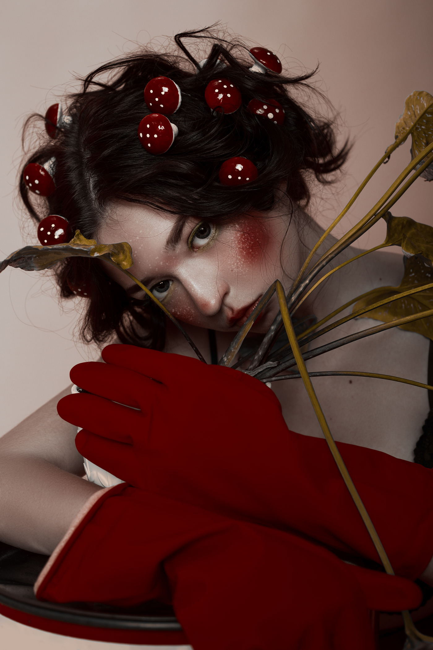 model Nature Plant red tears