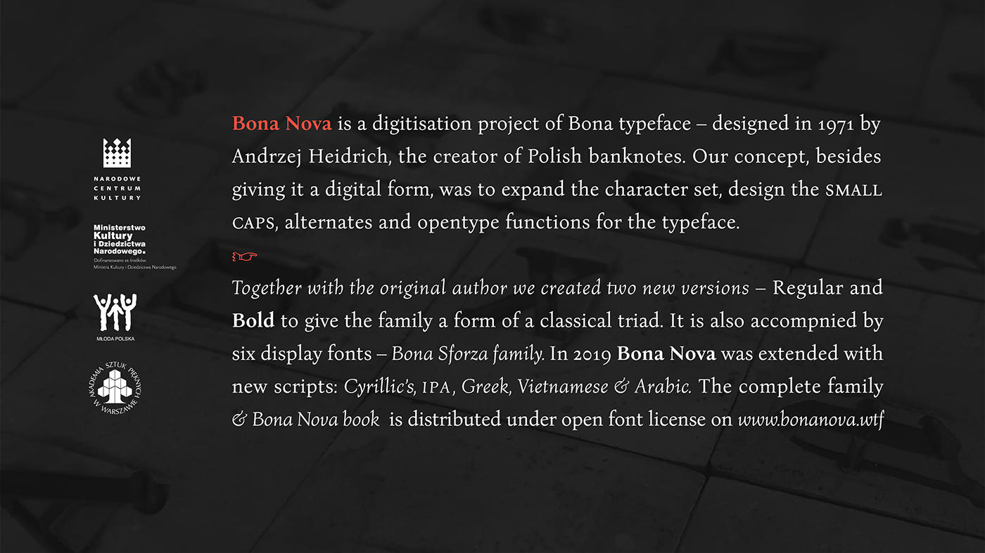 Bona Nova (FREE FONT) on Behance
