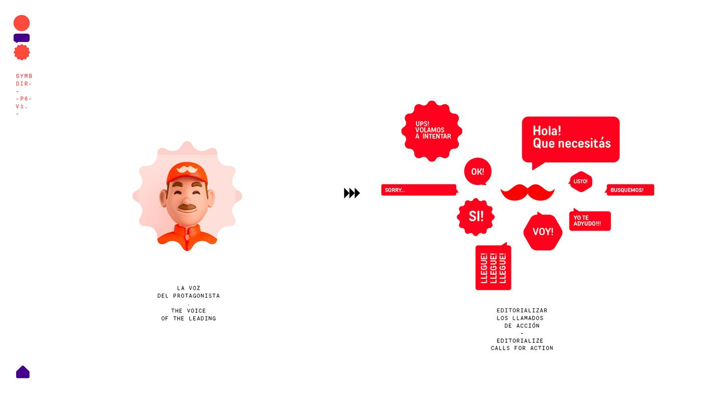 app conceptual digital Ecommerce Logistics rappi Smart virtual UI