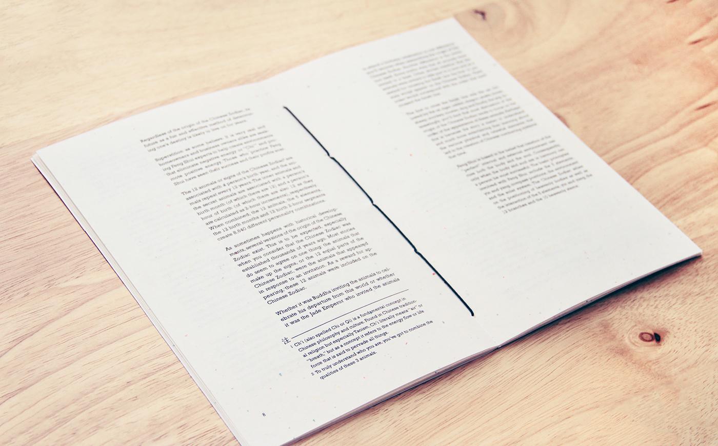 Book Design - Chinese Zodiac on Behance