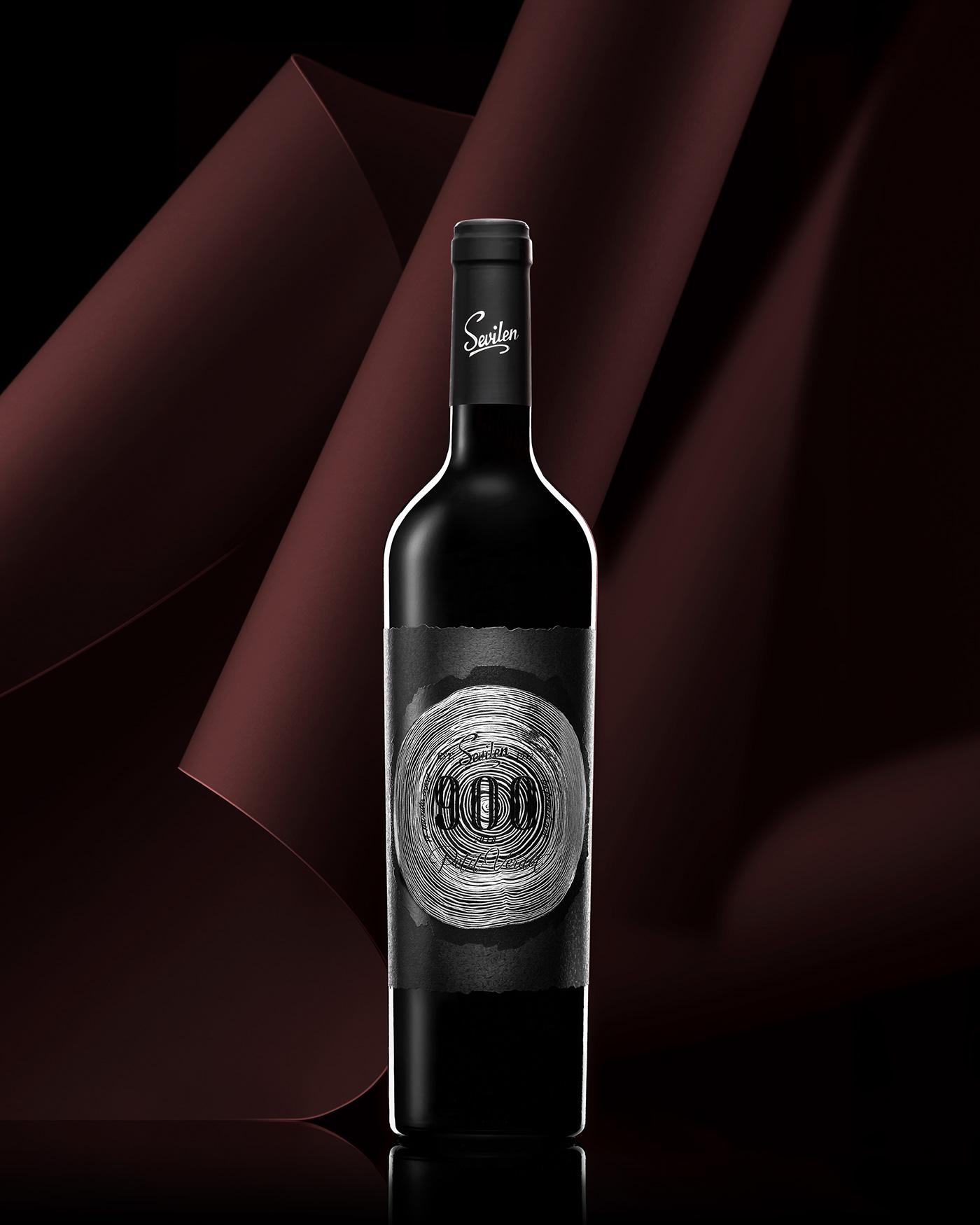 black bottle bottle product Product Photography wine