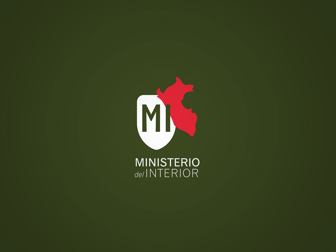 Ministerio del interior rebranding on behance for Mir ministerio interior