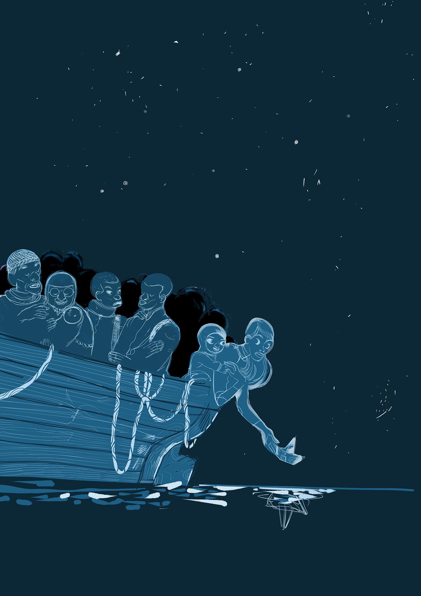 Le Barche sono come i corpi