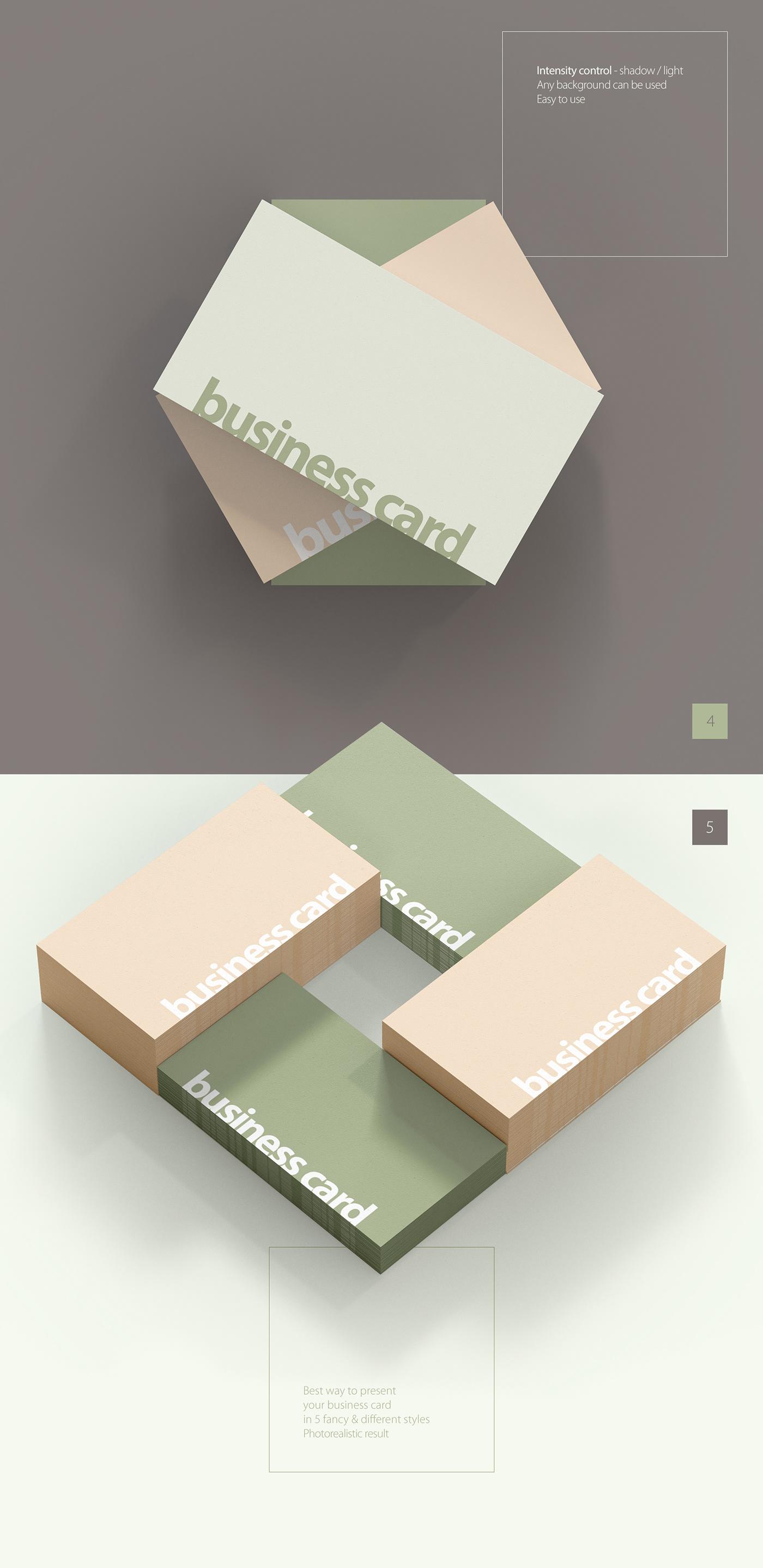 free Mockup Business Cards psd free mockup  card branding