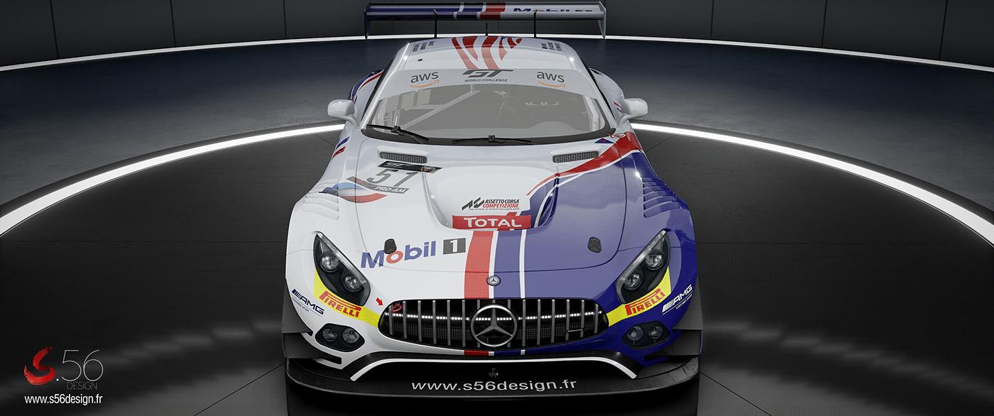 car design Car livery Livery mercedes Mercedes AMG Motorsport Oreca supercar