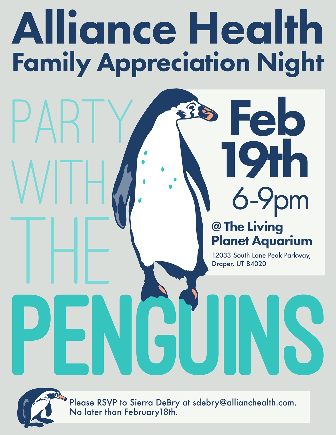 star wars penguins Events illustrations motion graphics