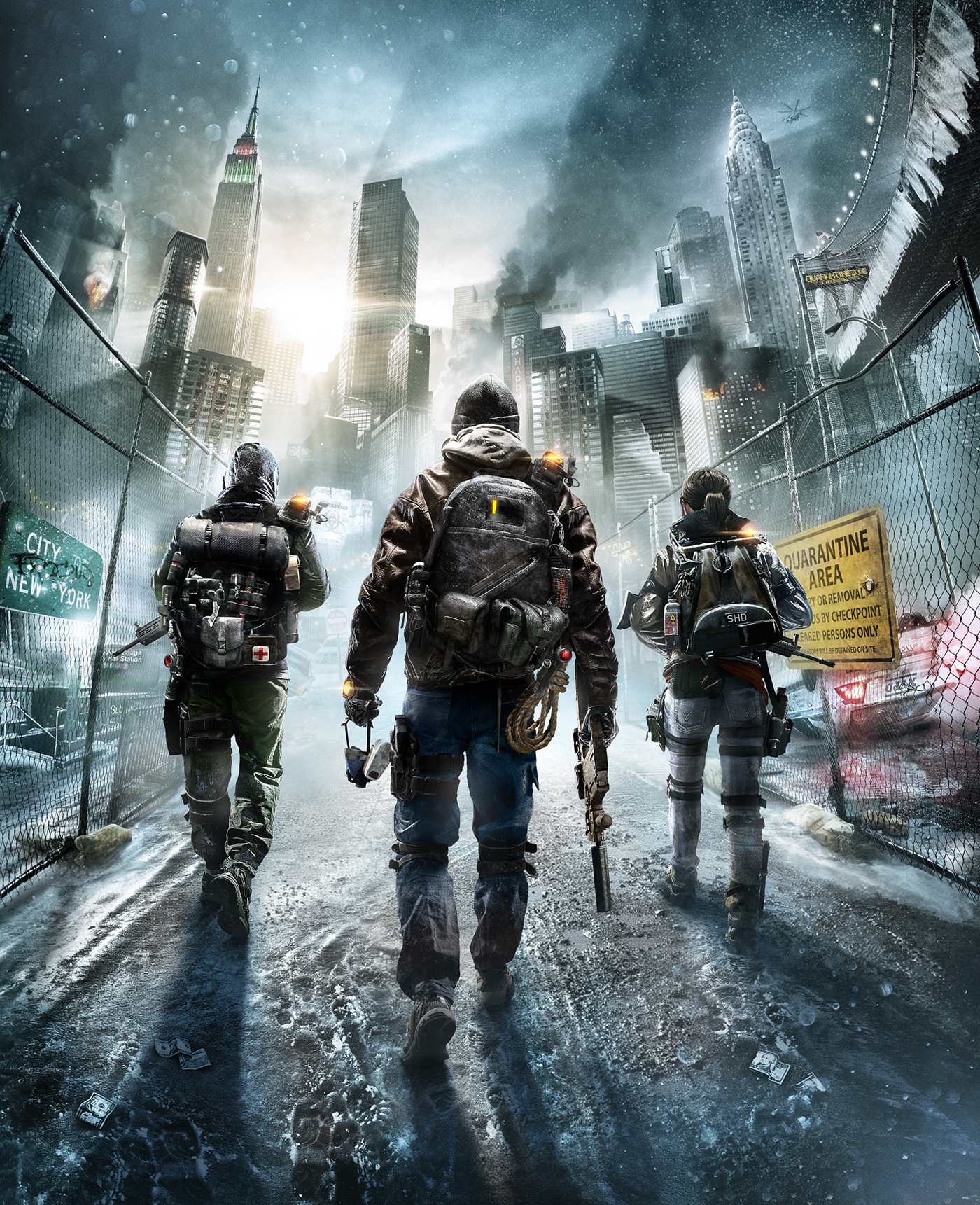 Tom Clancy S The Division Key Art Explorations On Behance