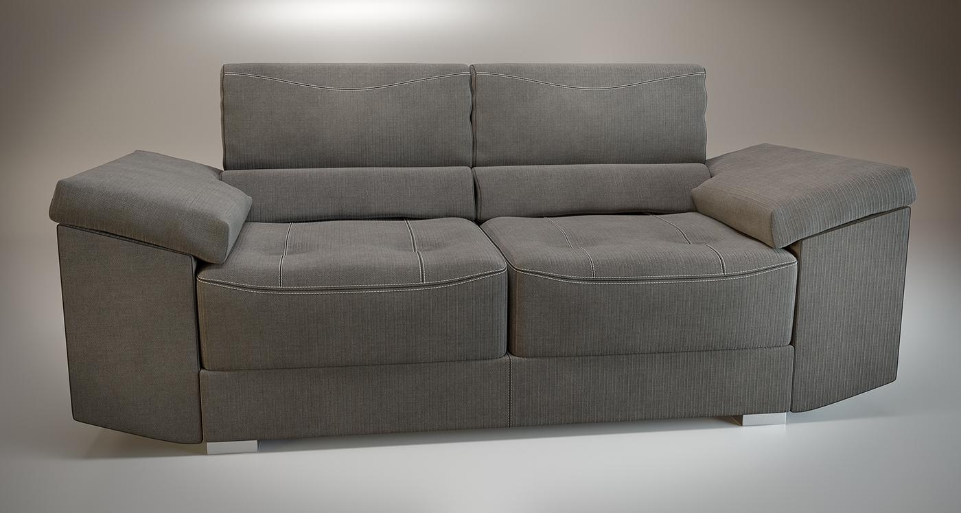 sofa mobiliario Interior