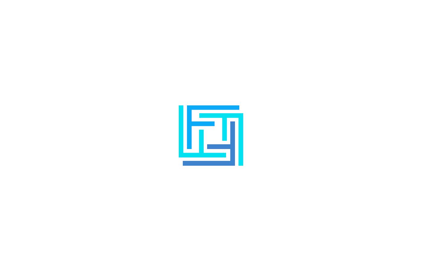 branding  brand logo brand identity identity visual accomodation clean housing premium