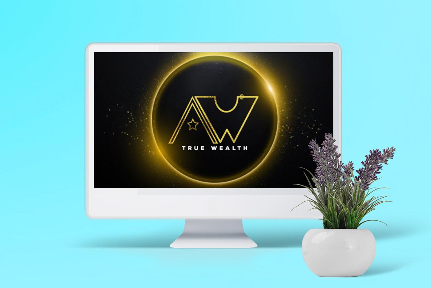 logo Logo Design logo designer true wealth partners TSG TSG THAT SMALL GIRL