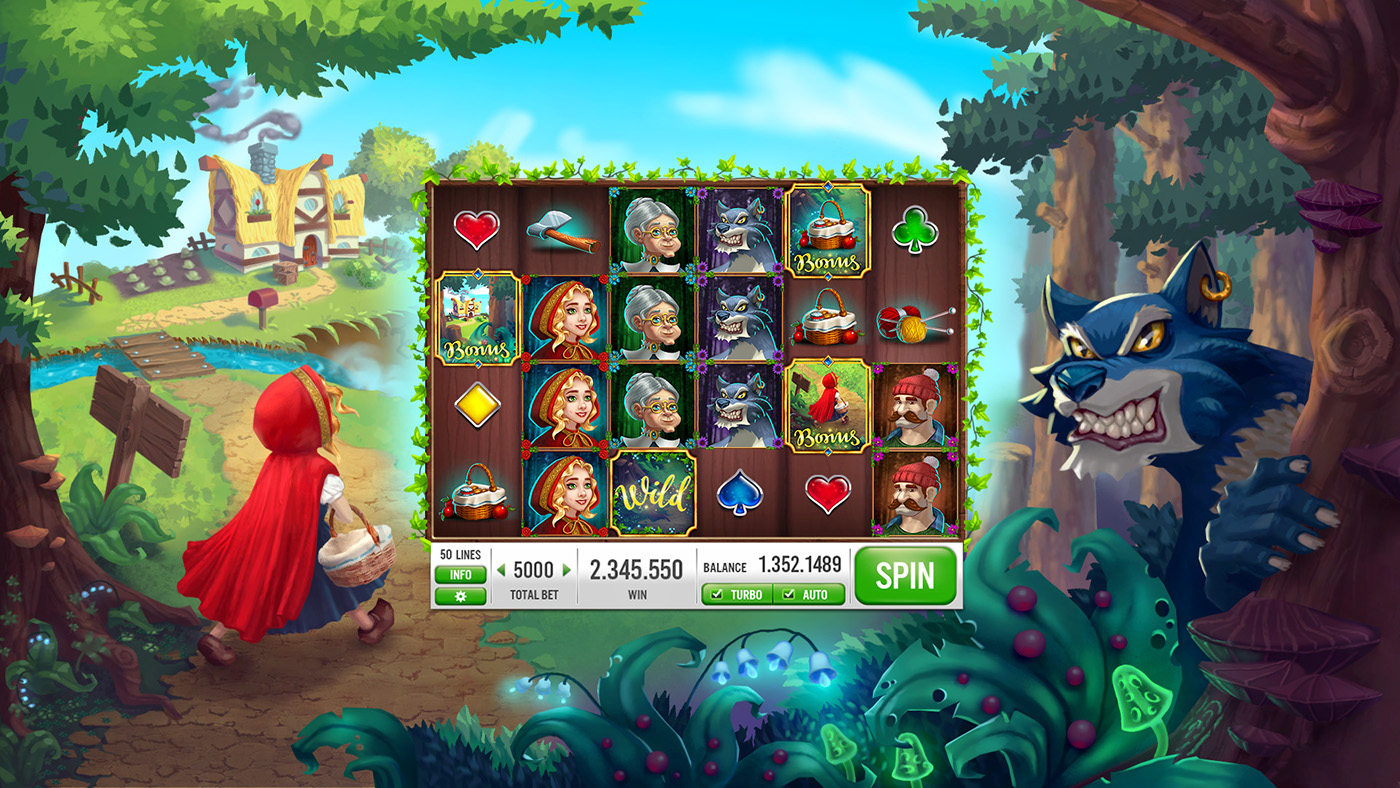 Lil Red Riding Hood Slots