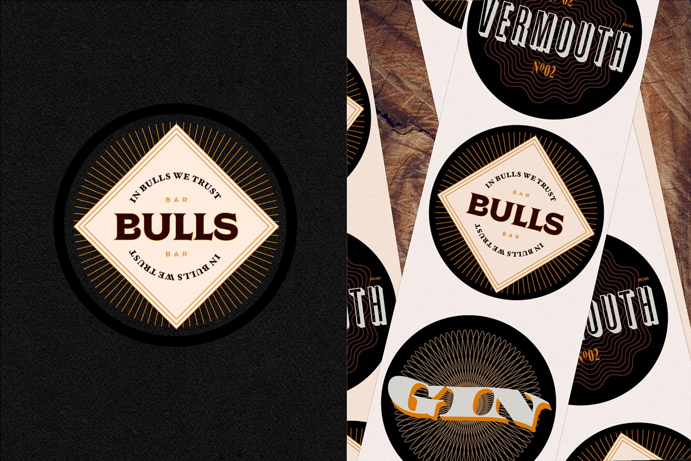 craft environment vintage trendy bull store orange Style bar browery