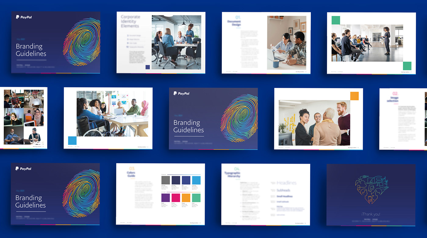 Belonging company corporate Diversity editorial equity guidelines ILLUSTRATION  inclusion paypal