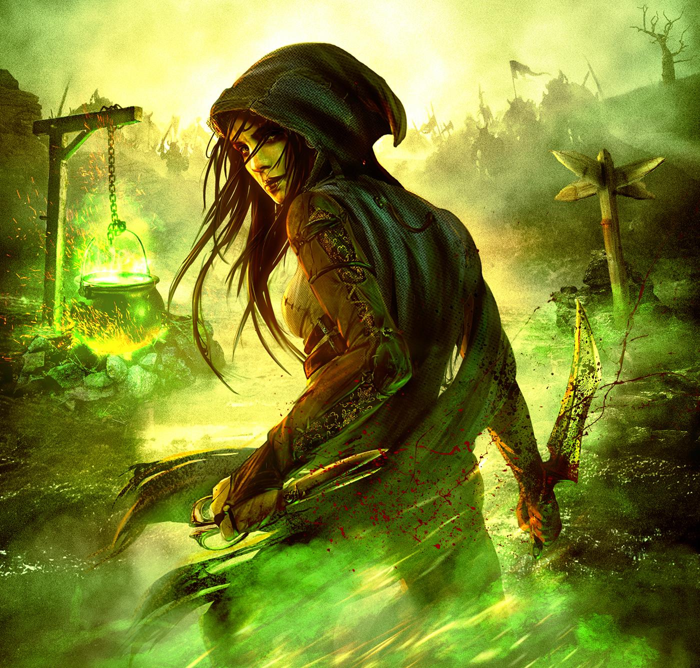 book book cover spook spook's Joseph Delaney delaney penguin random house Dark Fantasy green assassin