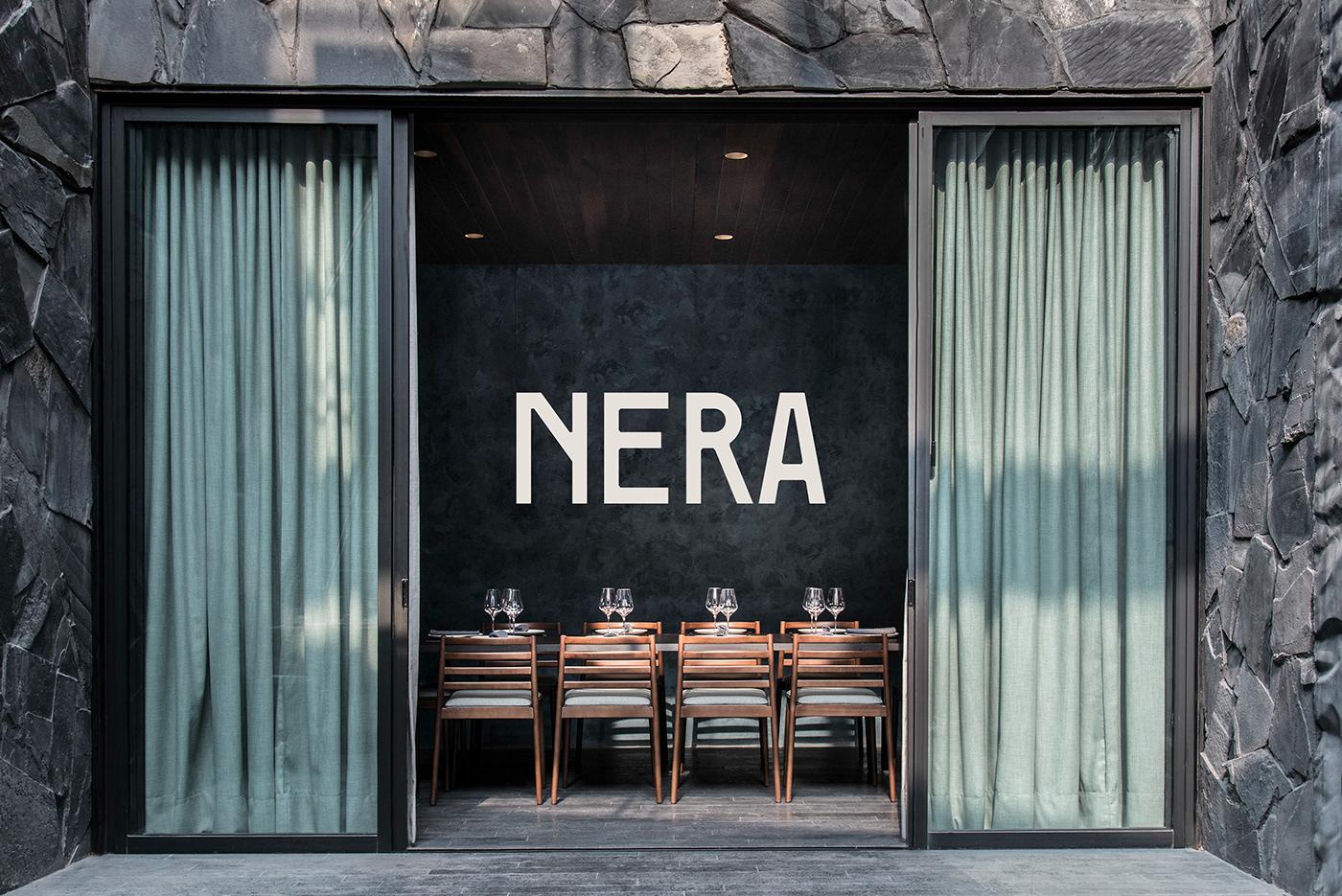 art direction  brand identity branding  graphic design  Logotype mexico naming Pizza restaurant Typeface