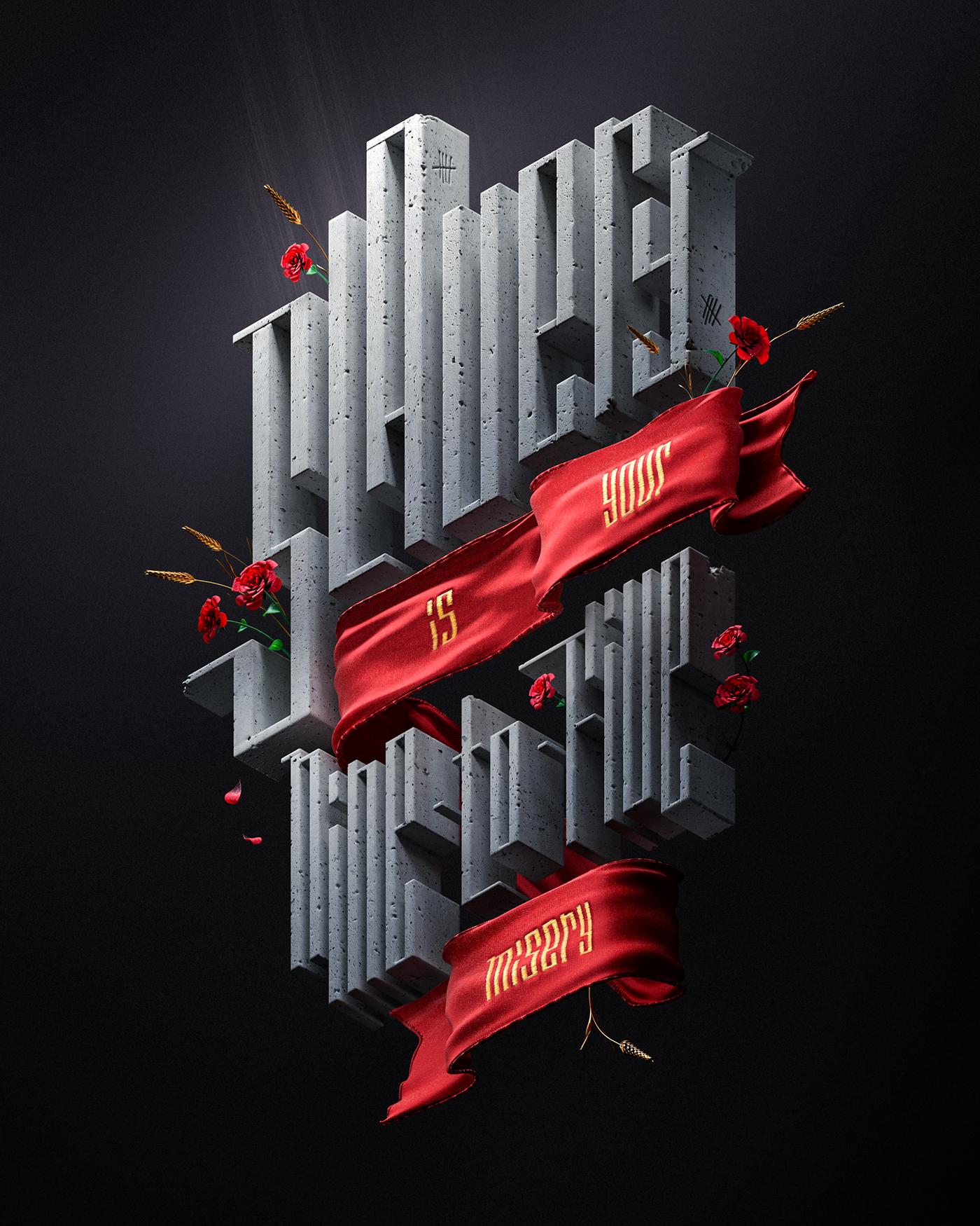 truth,poster,retouching ,cinema4d,octane,Render,CGI,3D