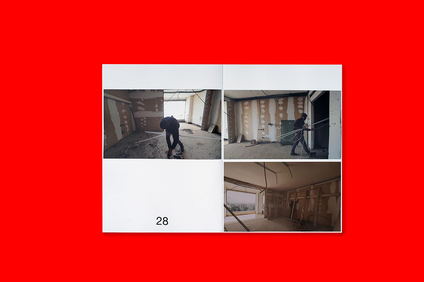 editorial book graphic design  InDesign artistic project contemporary