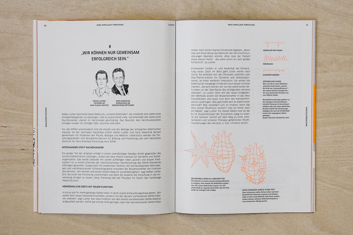 editorial design  ILLUSTRATION  infographic science magazine Health