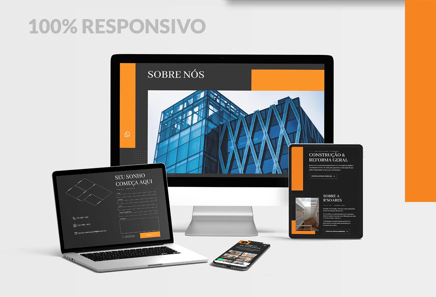 Brazil SP ux Web Design  Website