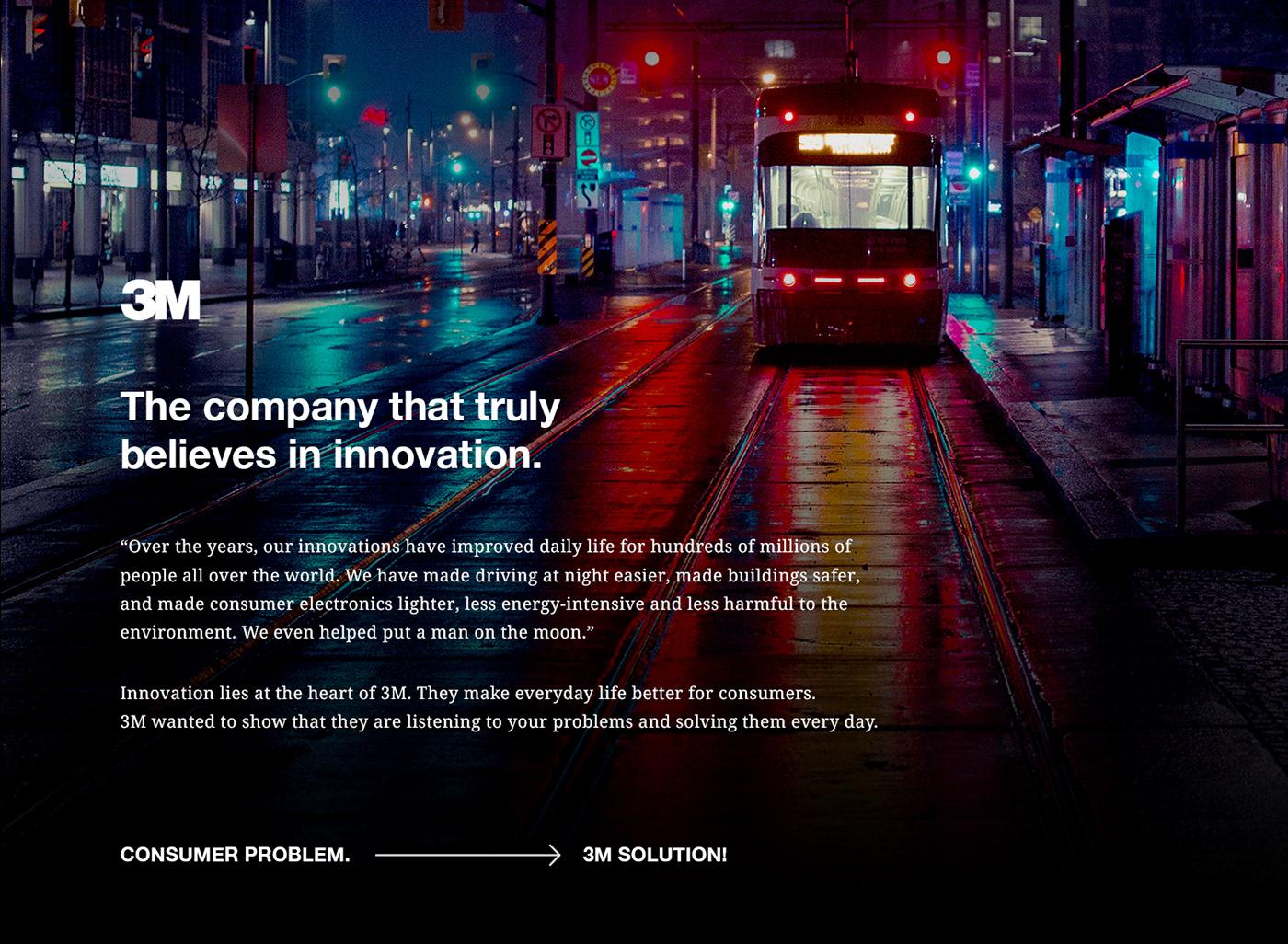 3M Digital Ads on Behance