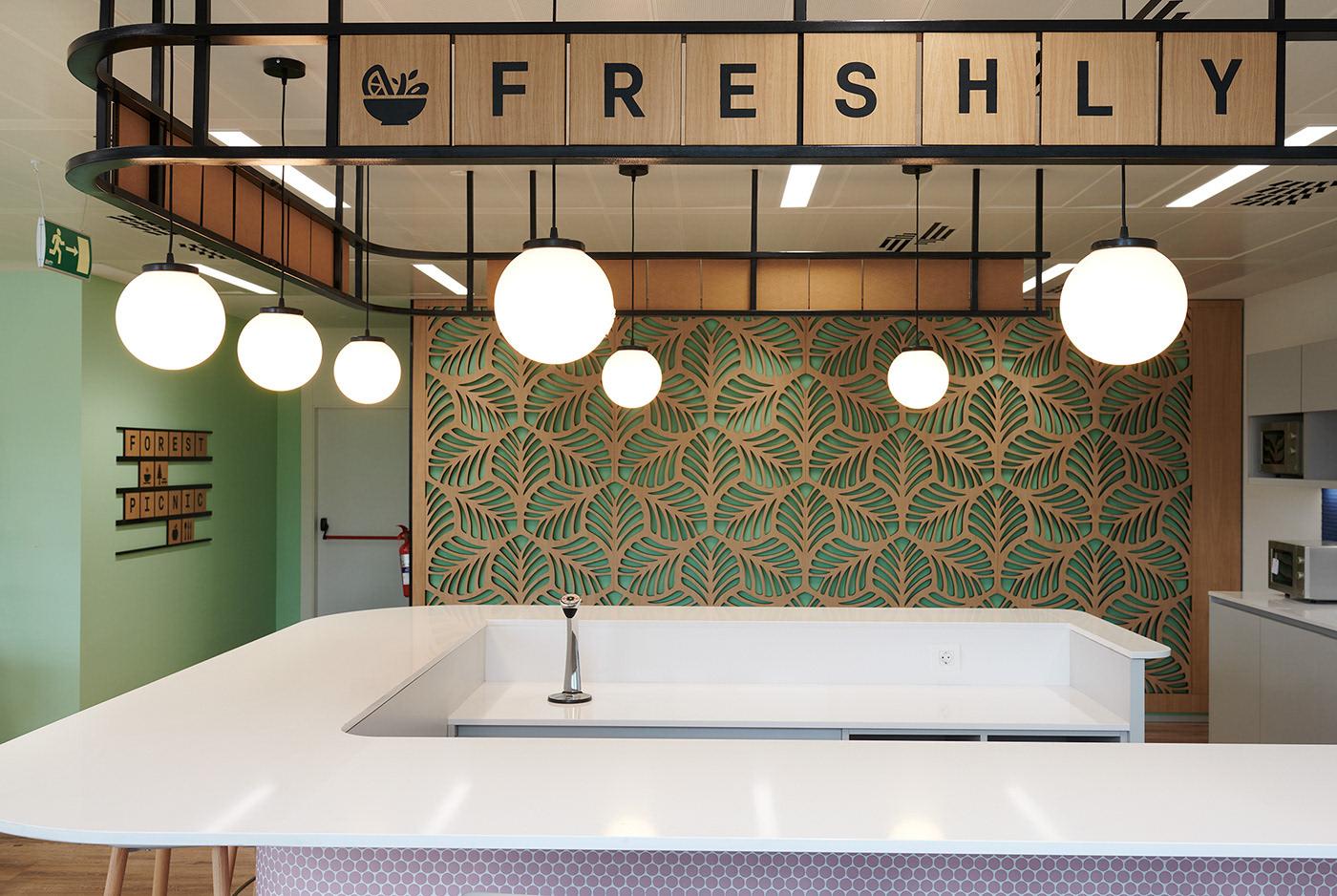 diseño facility manager grafico multinacional Oficinas señalización sideral sostenible