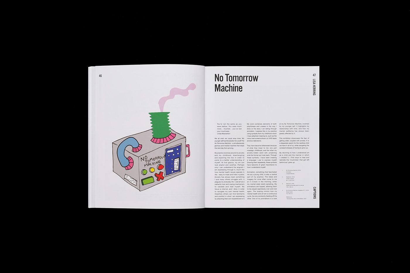 art book Catalogue editorial design  Exhibition  graduate