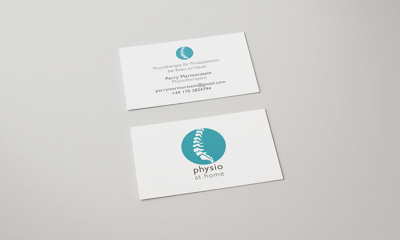 Business Card Physiotherapy On Behance