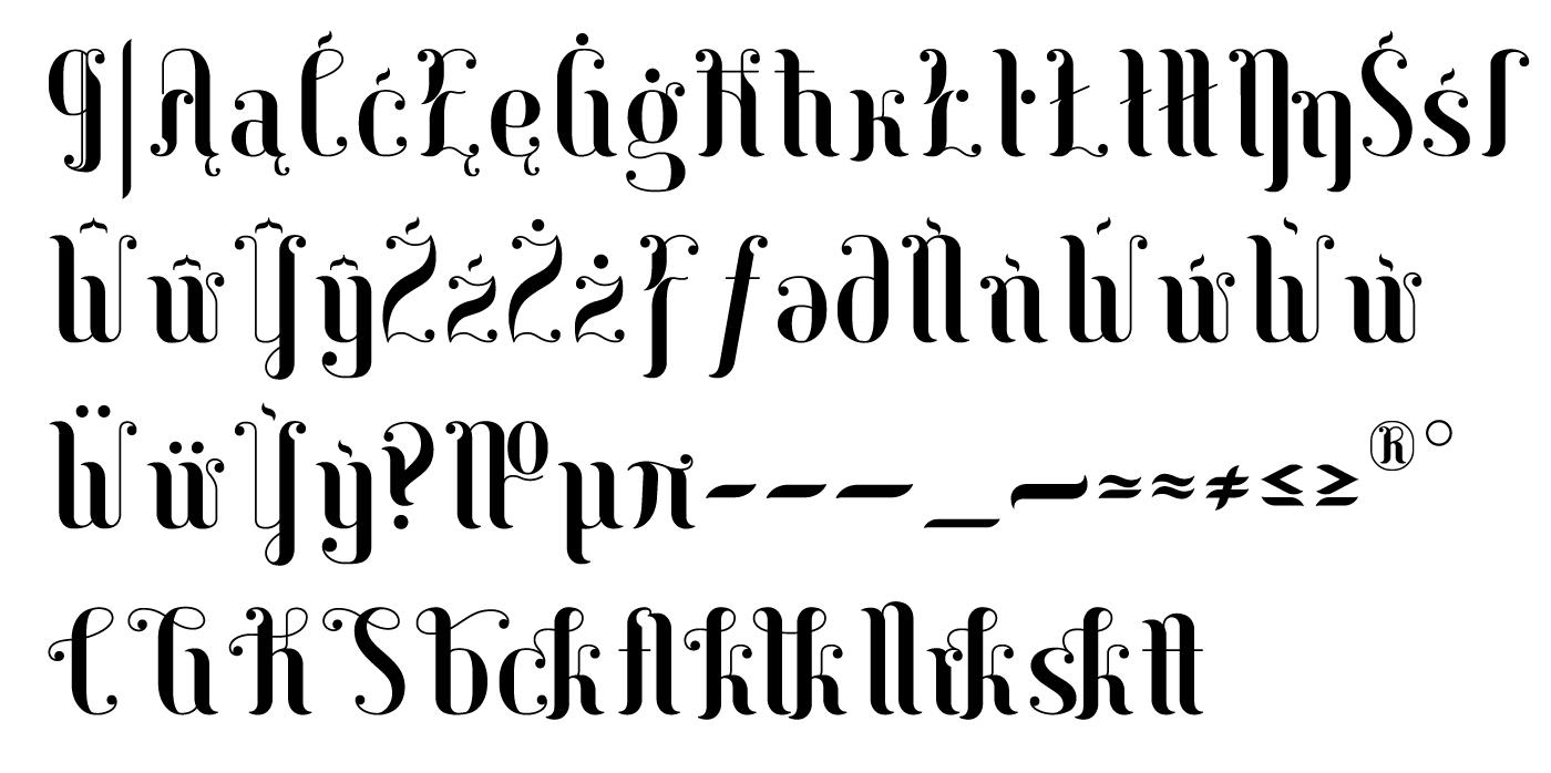 free glyphs schrift Typeface typography   vector Latin