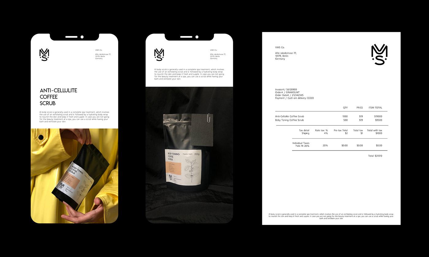 branding  coffee scrub identity ILLUSTRATION  logo logos Packaging scrub VSM