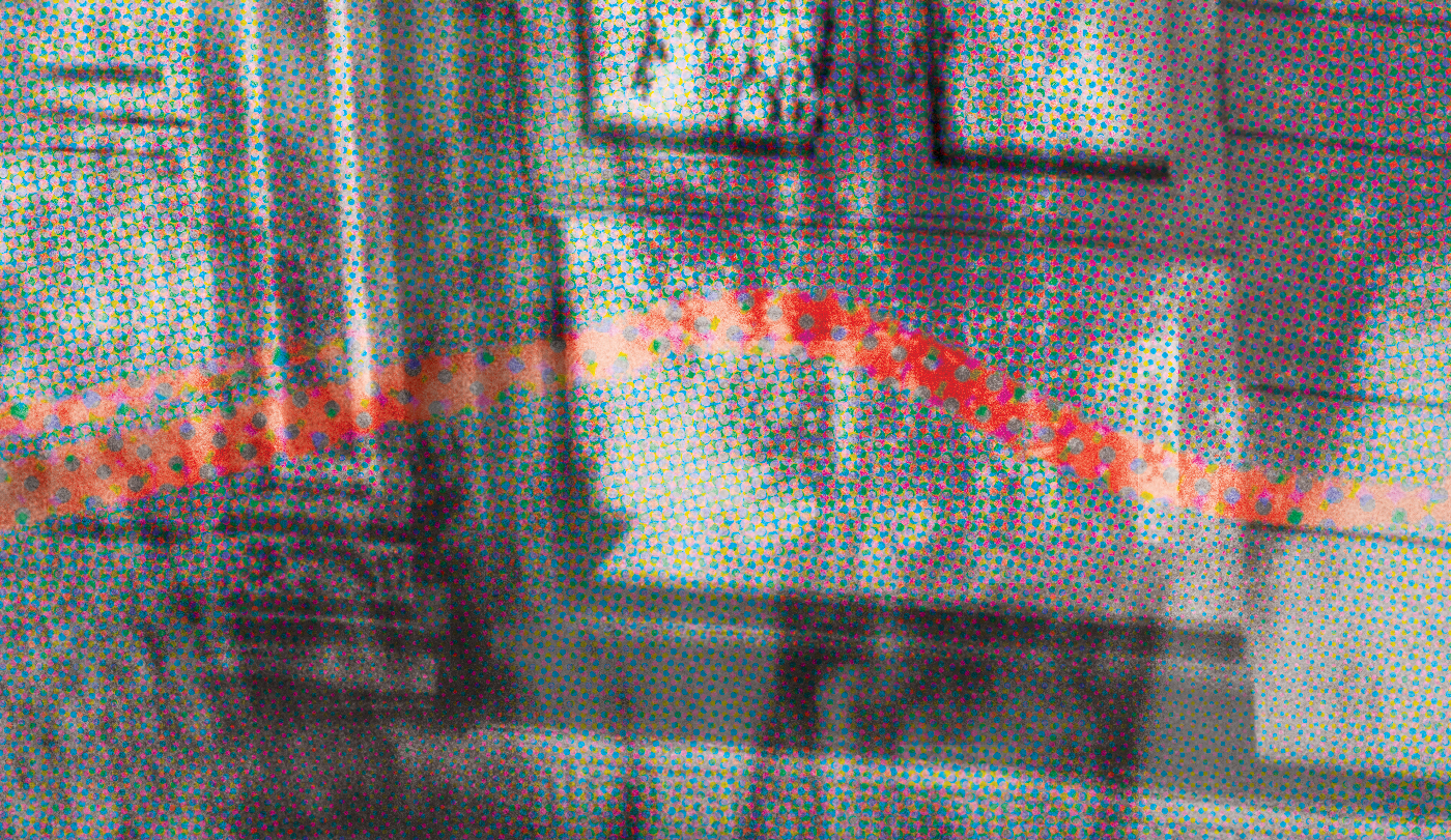 print raster photomanipulation collage photo poster reflection Glitch abstract detail tagging water building